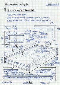 Plan de fabrication boîte