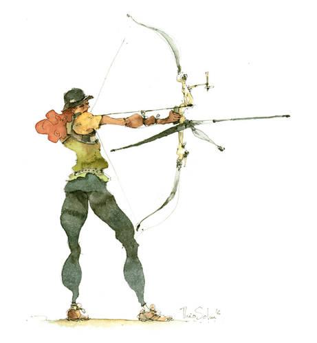 Le tir à l'arc