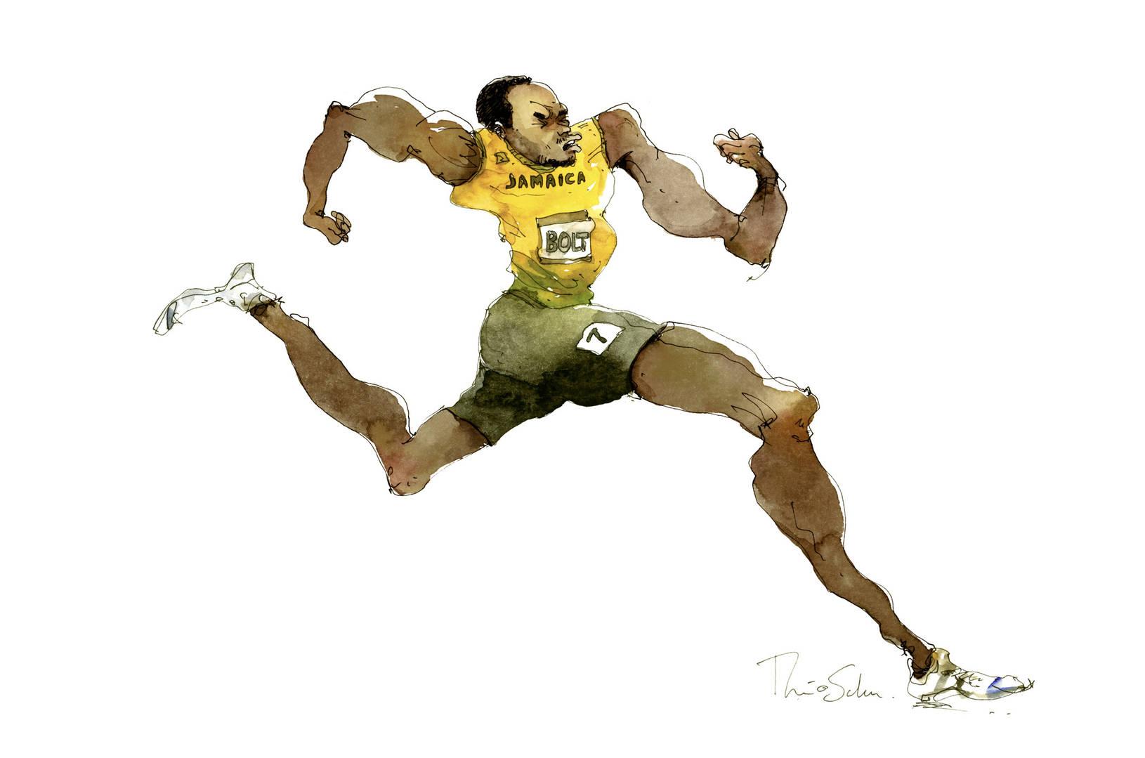 Le Usain Bolt