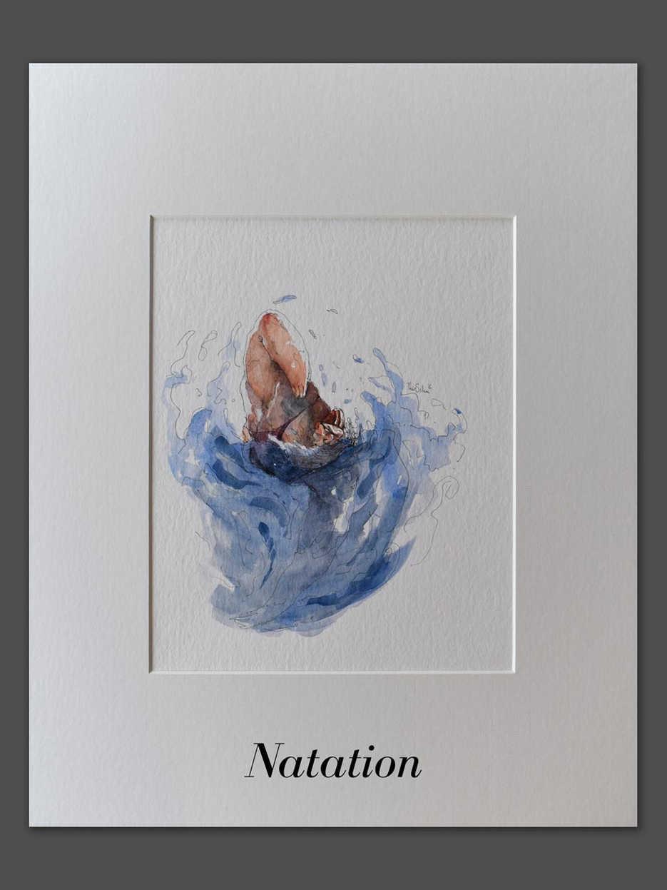 JO - Natation