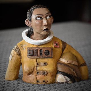 Sculpture - Eva l'astronaute