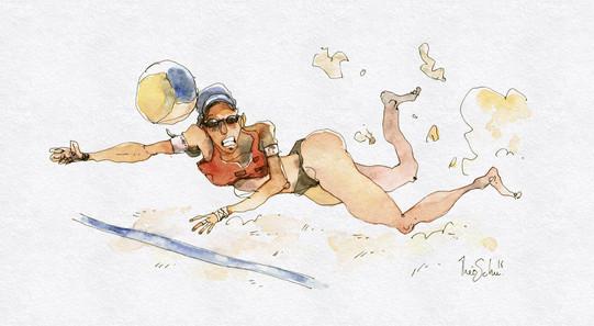 JO - Beach-Volley