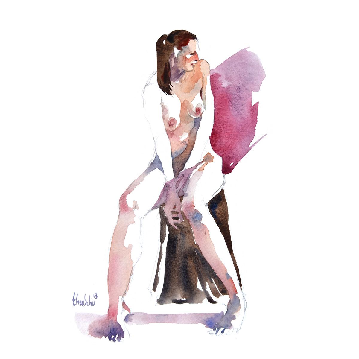 Modèle nue - Art models book