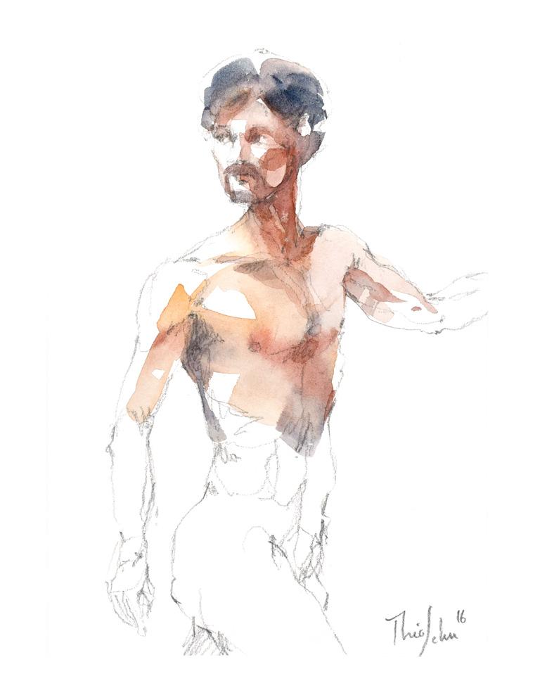 Modèles nu - Jean