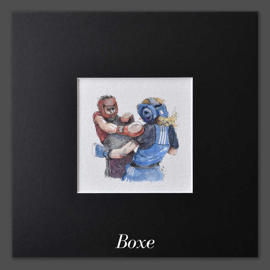 JO - Boxe