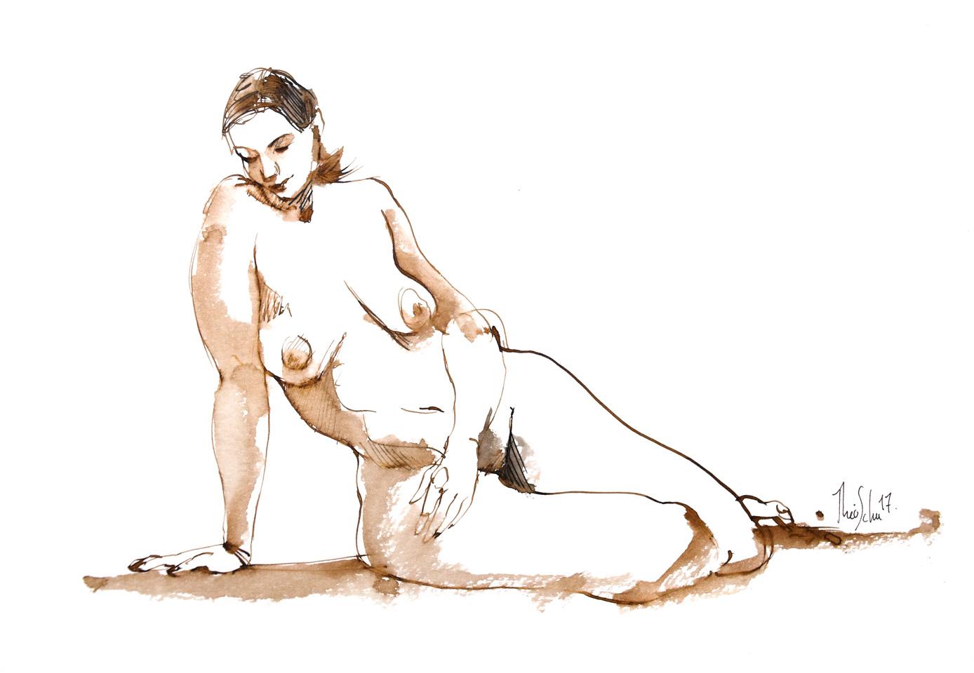Modèle nue - Catherine