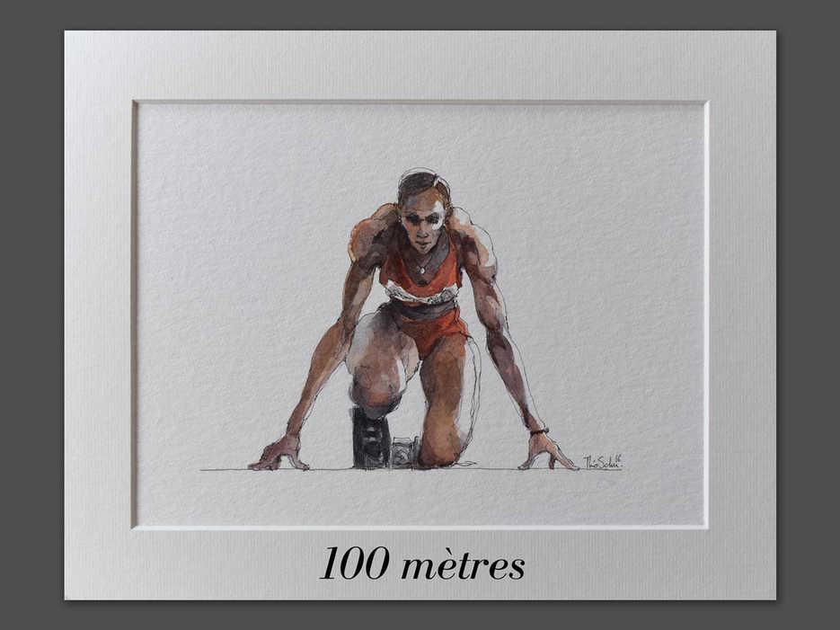 JO - 100m