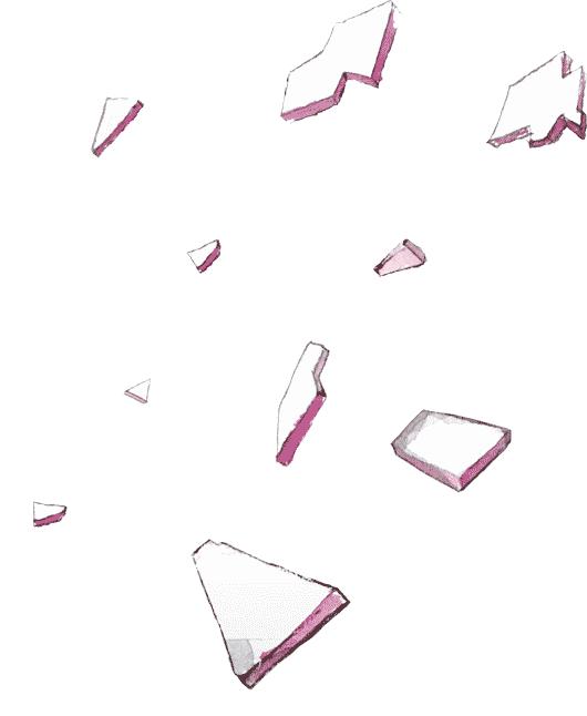 Eclats de verre dessin