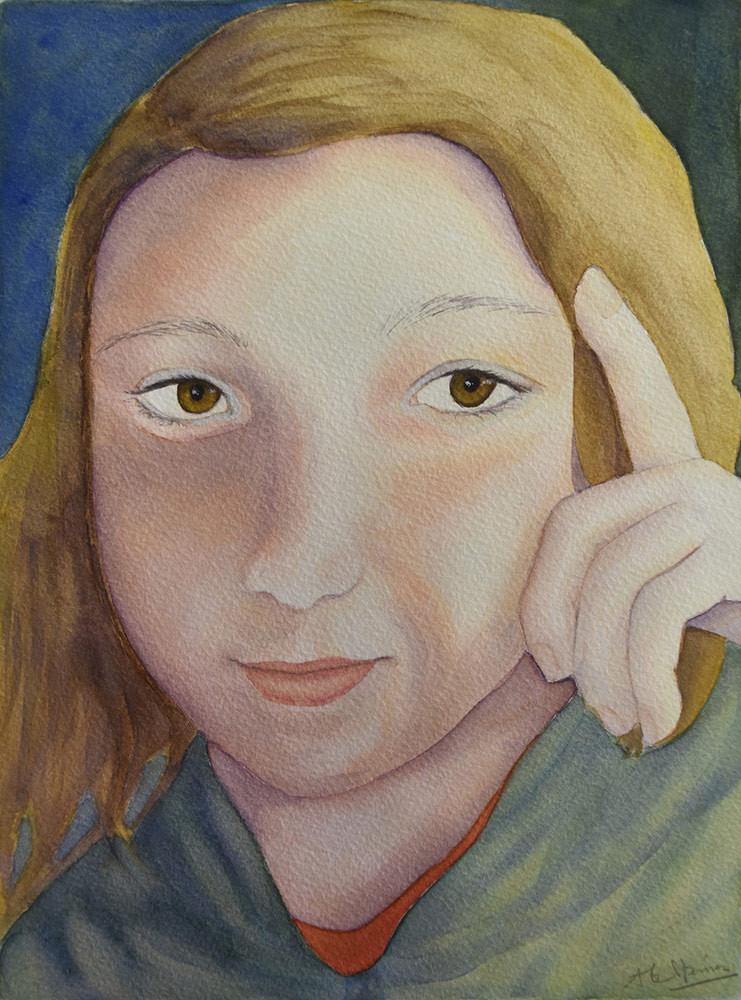 Portrait d'après photo