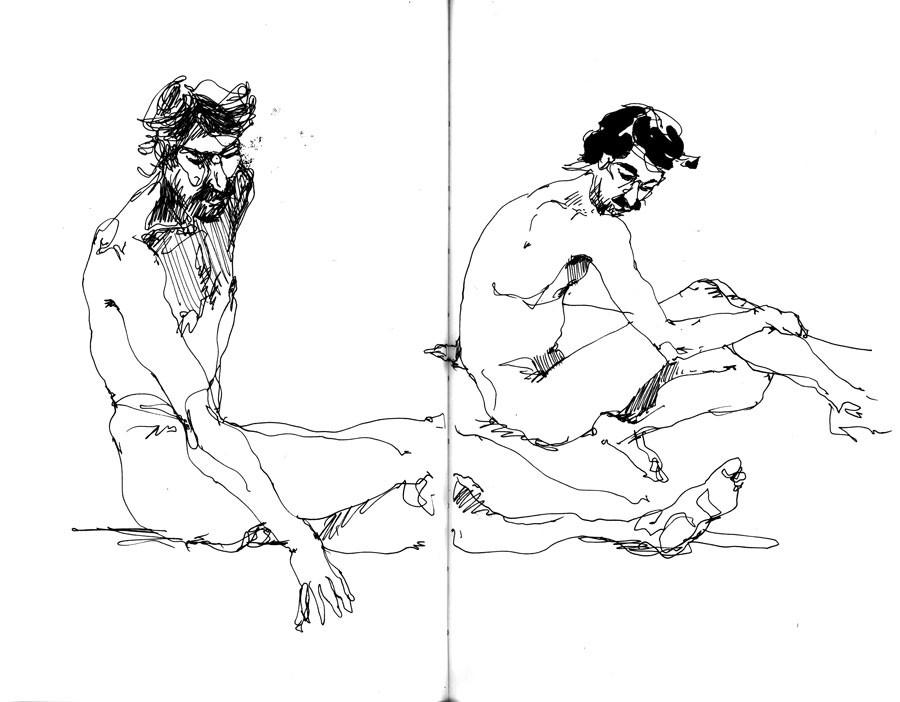 Modèle nu - Francesco