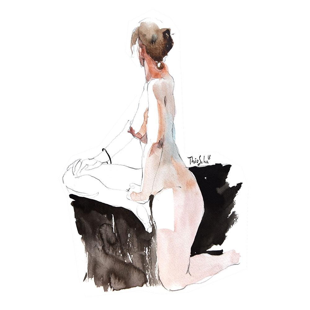 Modèle nue - Lydie