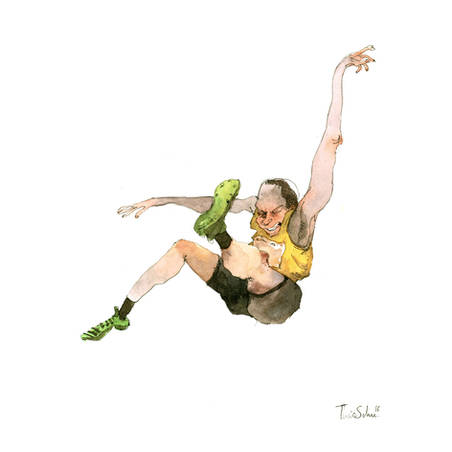 Le saut en longueur