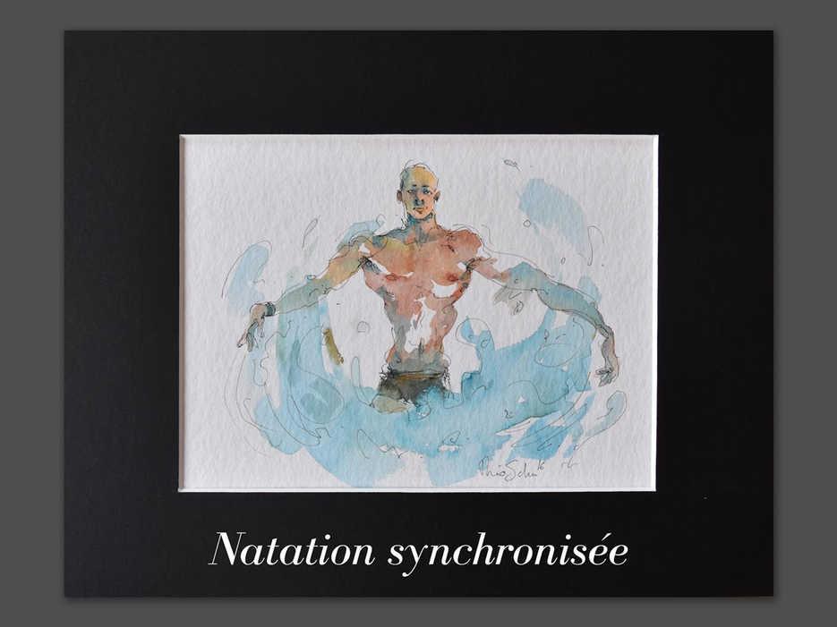 JO - Natation synchronisée