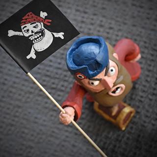 Sculpture - Pirate