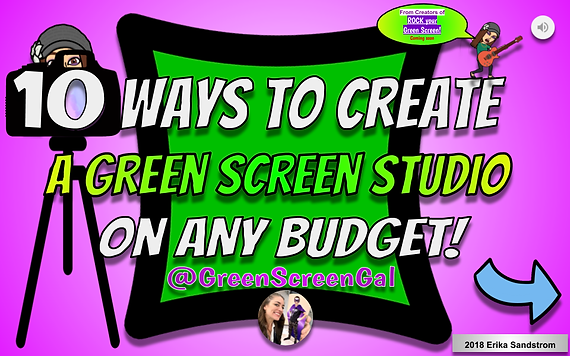 10 Ways to Create a Green Screen STUDIO