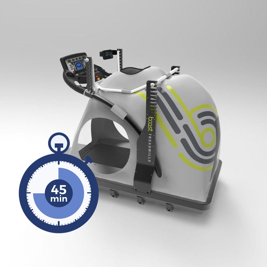 45min Anti-Gravity Treadmill