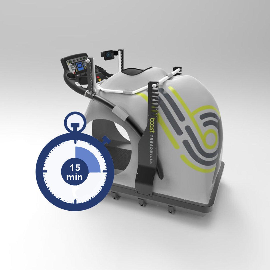 15min Anti-Gravity Treadmill