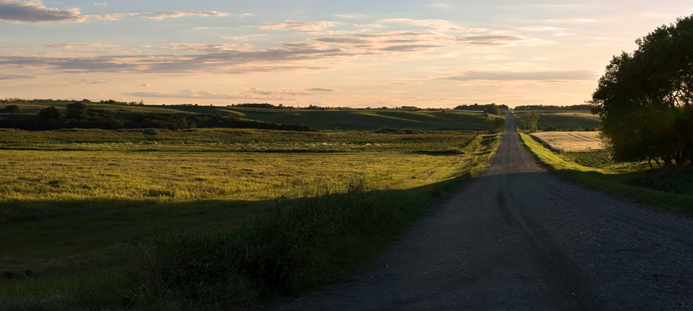 shadow cast road