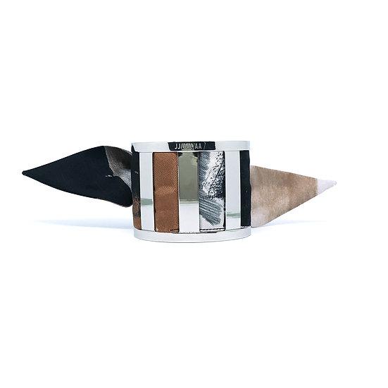 La Manchette JJ/MM/AA et son bracelet Palette couleur Pigment