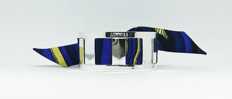 Petite manchette argent & son bracelet Arbre Animal - Irréel
