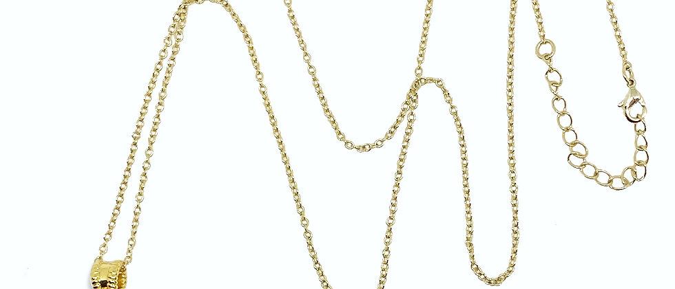 Le collier Pompon - Or