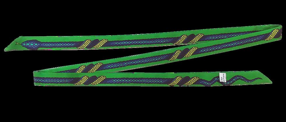 Lacet fin de 130cm - La Vie, vert