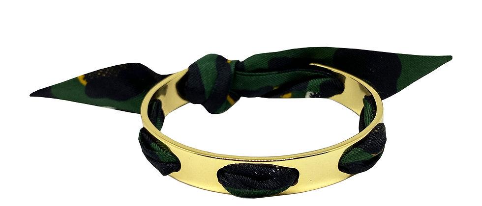 Bracelet Proust - Leopard Vert foncé