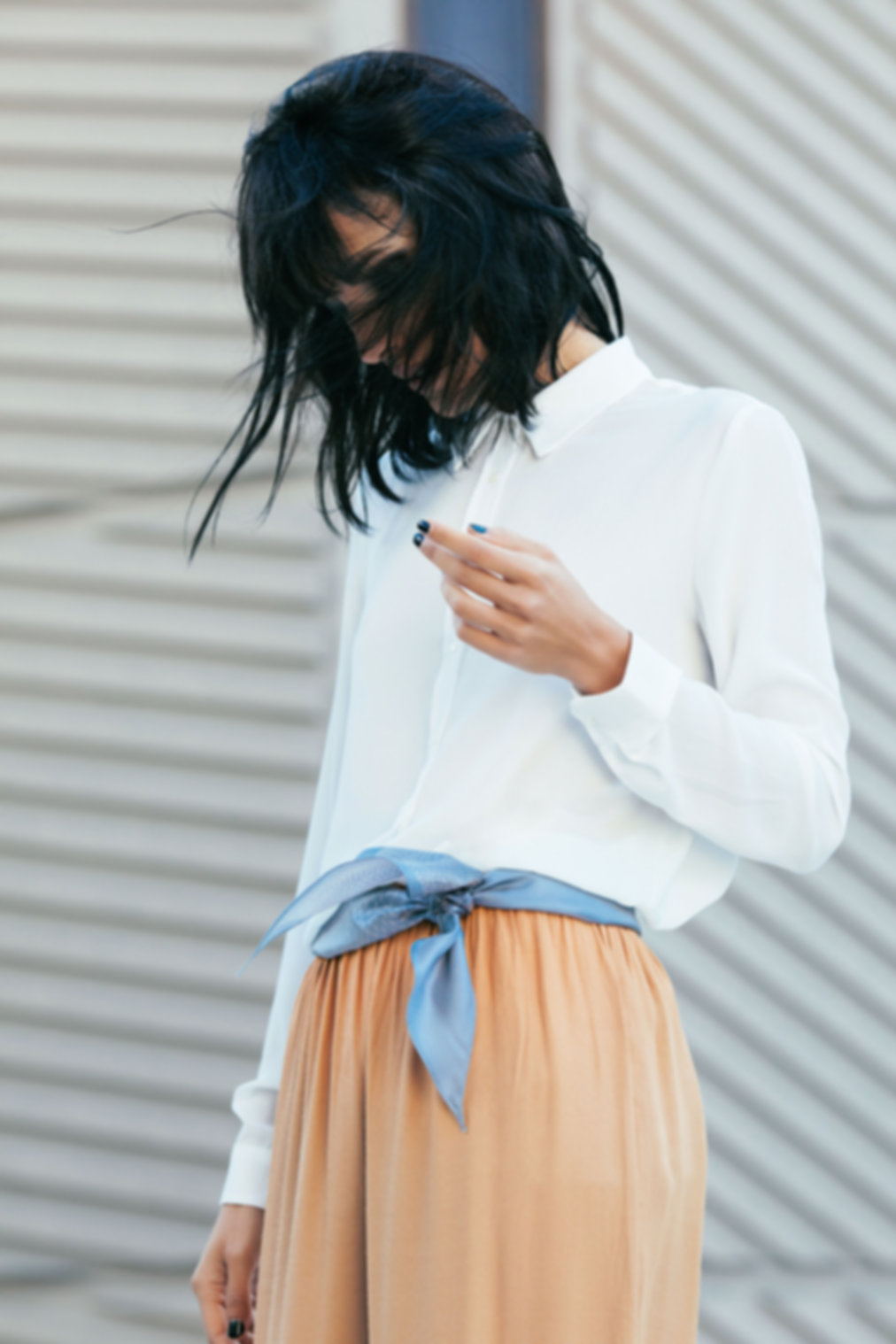 Foulard en soie AN-NEE par Alexia Nokovitch