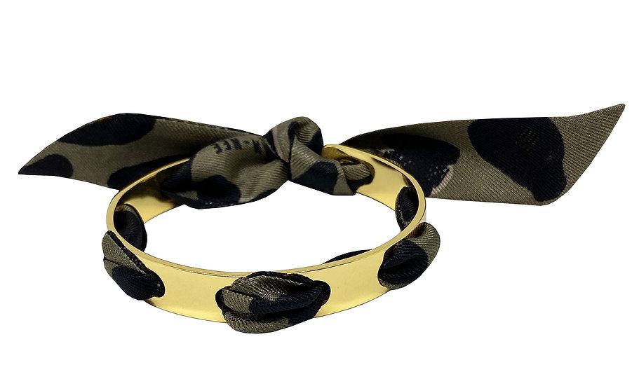 Bracelet Proust - Leopard Khaki