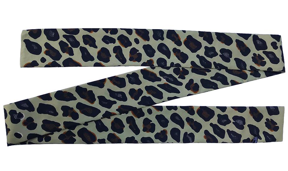 Headband ceinture Leopard - Olive