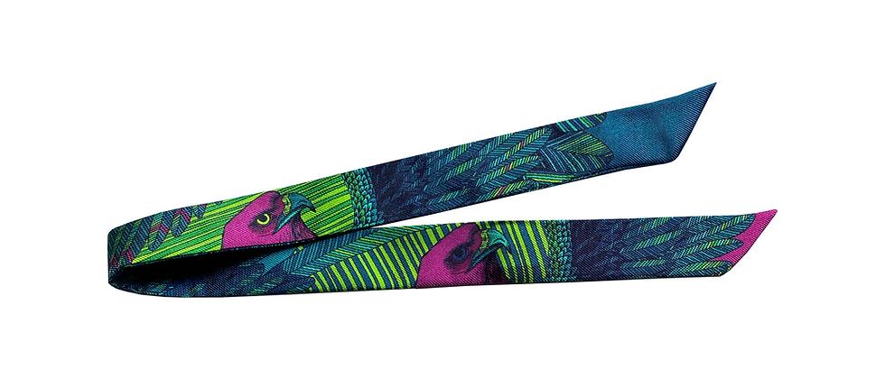 Ruban 2cm - L'Aigle, turquoise