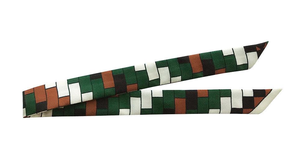 Ruban Mosaiques, Vert