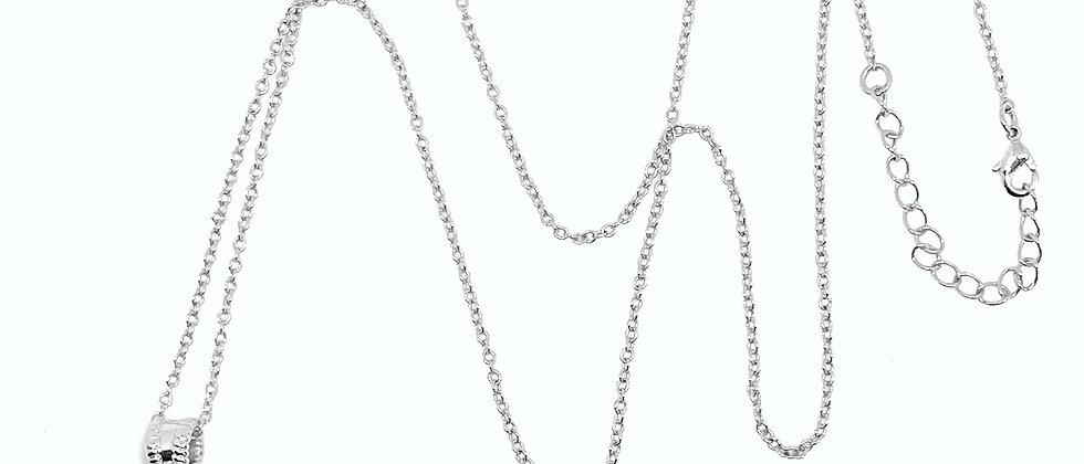 Le collier Pompon - Argent