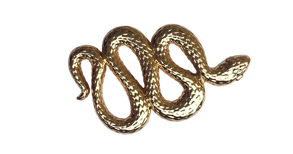 Le Serpent - Ornement à foulard