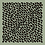 Thumbnail: Carré 110 cm Léopard, vert sauge