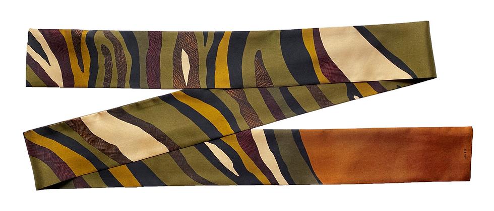 Headband ceinture Le Zèbre, khaki