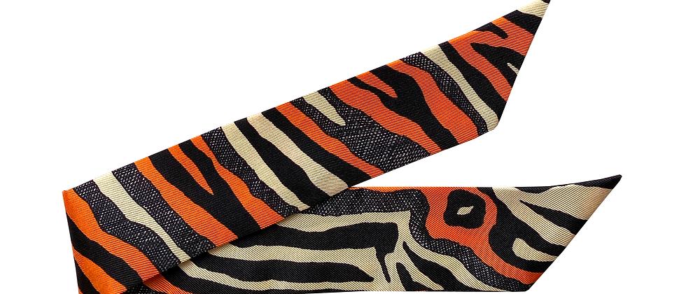 Bracelet 4cm - Le Zèbre, orange