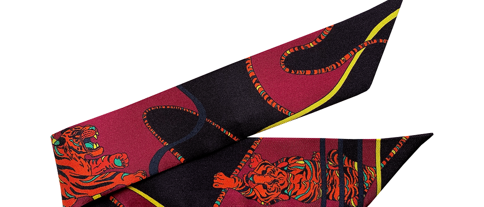 Bracelet 4cm - Le Tigre, cerise