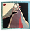 Thumbnail: Carré 90 cm - Dame de Coeur - Colori Classique