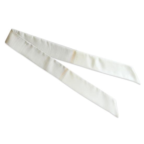 Petit Headband Le Plein - Blanc cassé et gris