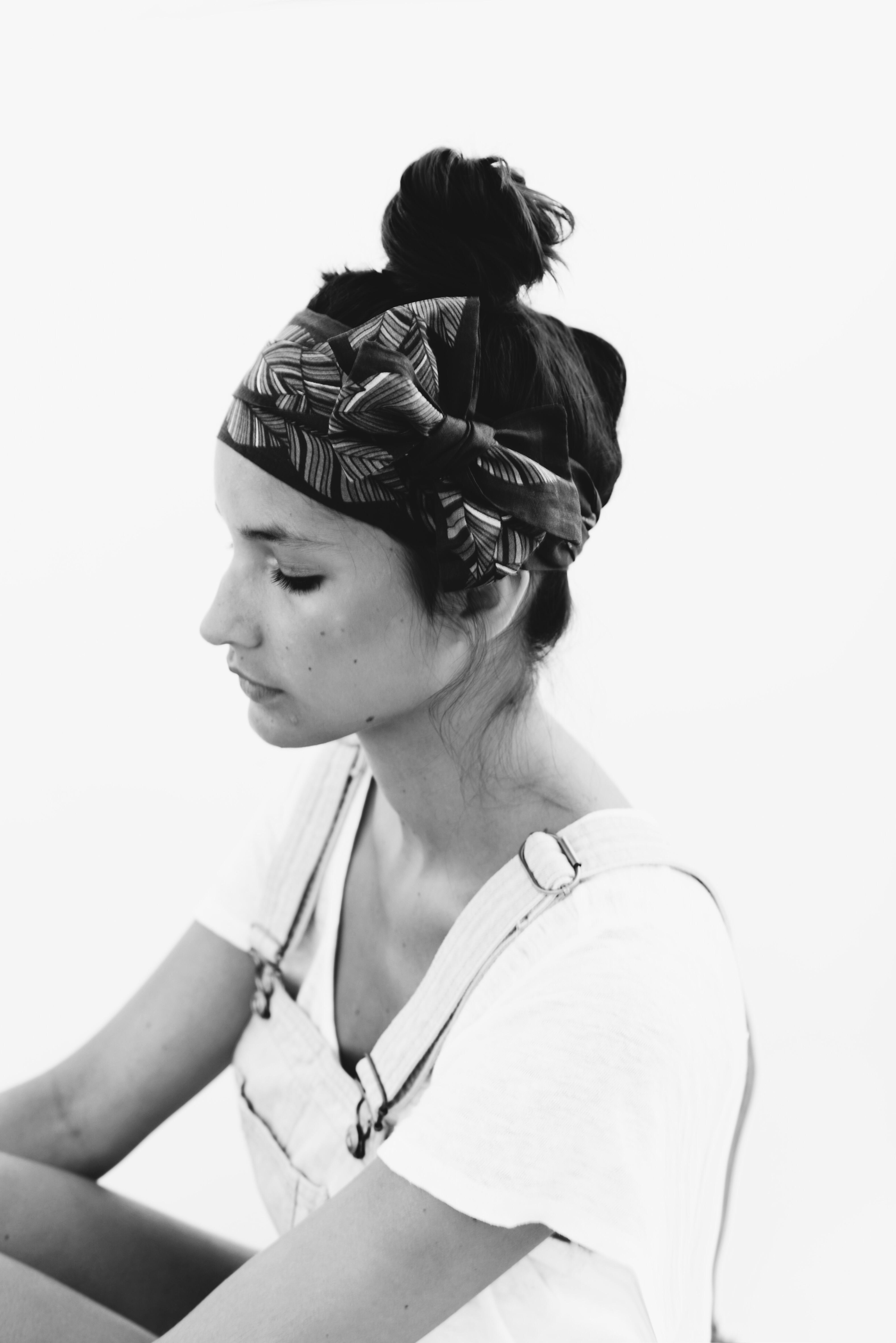 Grand headband Saisons - Savane