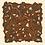 Thumbnail: Petit carré 70 cm - Libre - Blanc Cassé