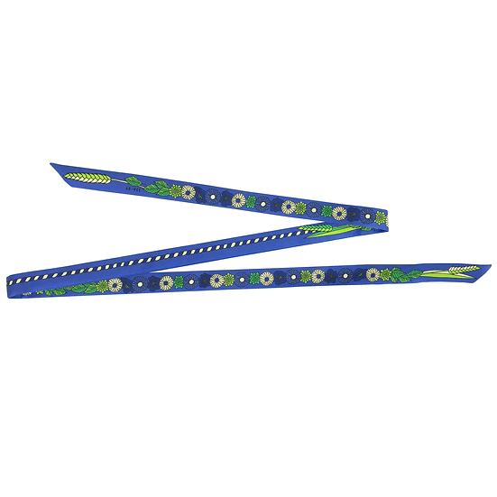 Headband ruban Fleurettes - Bleu