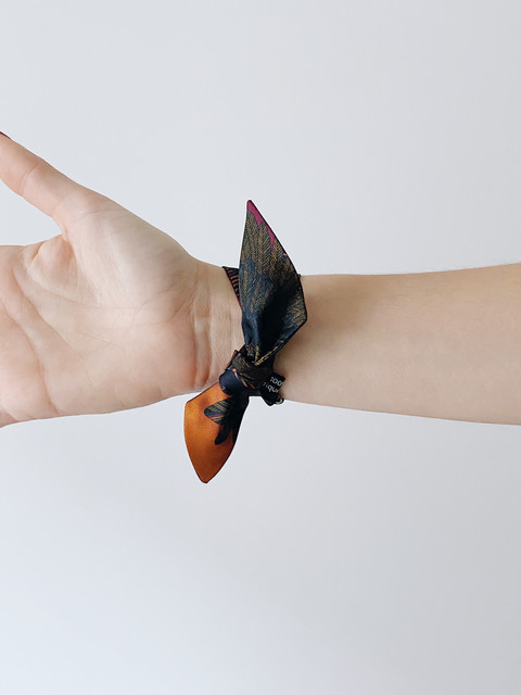 Bracelets & silk ribbons