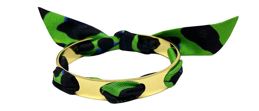 Bracelet Proust - Leopard Vert flash