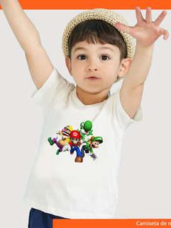 Camisetas de niño