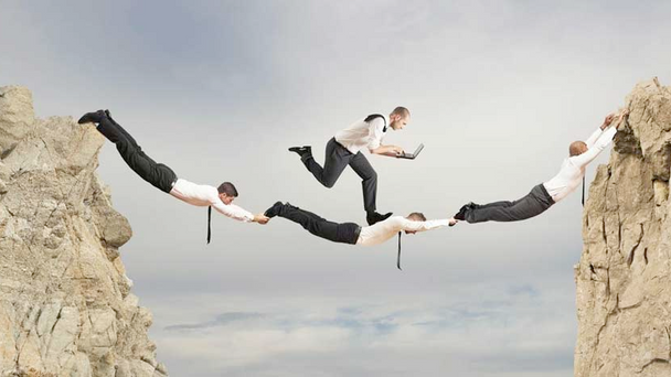 Dinámica para la construcción de confianza en los equipos.