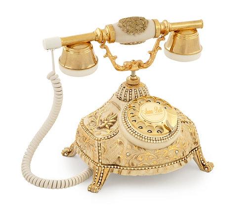 Renk:Kemik Antika Telefon