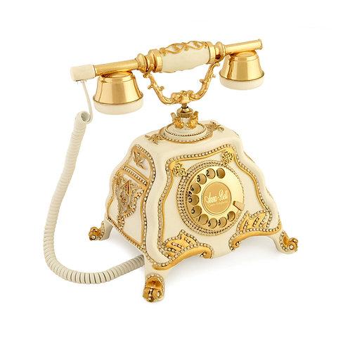 Barok Swarovski Taşlı Klasik Telefon