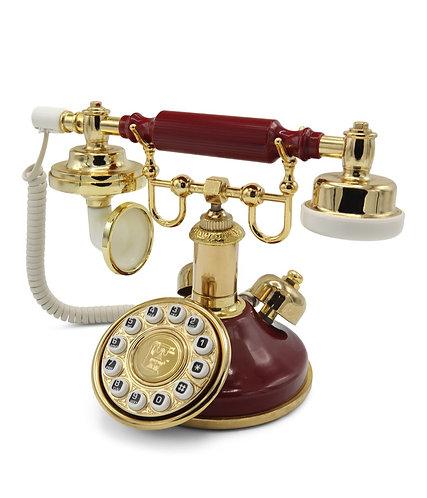 Villa Stork Bordo Klasik Telefon